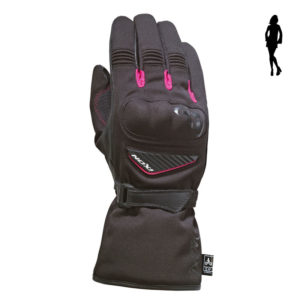 Guantes IXON PRO ARROW LADY Negro Rosa