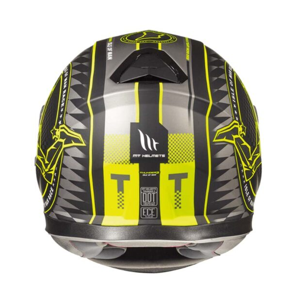Casco MT THUNDER 3 SV ISLE OF MAN Fluor 3