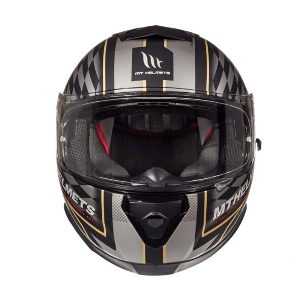 Casco MT THUNDER 3 SV ISLE OF MAN Negro 2