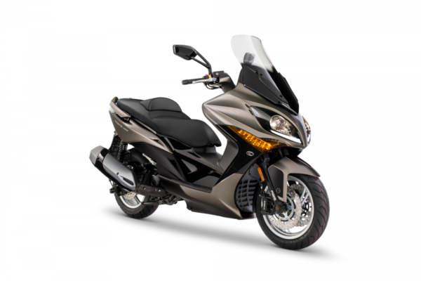 Kymco-Xciting-400-Marrón