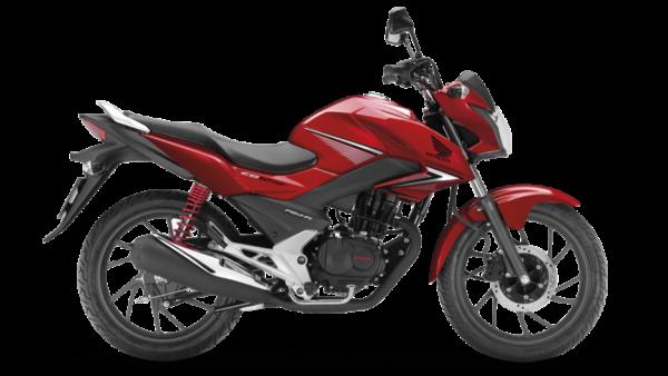 Honda CB125F Rojo