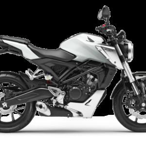 Honda CB125R Blanco Perlado