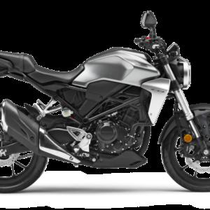 Honda CB300R Plata Metálico