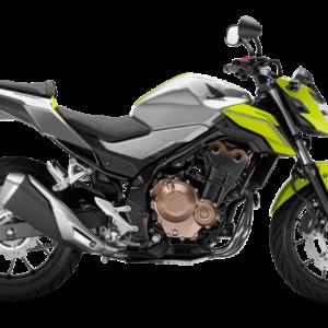 Honda CB500F 2018 Plata