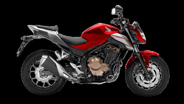 Honda CB500F 2018 Rojo