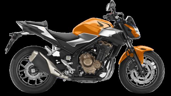 Honda CB500F Naranja