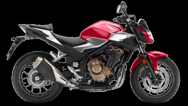 Honda CB500F Rojo
