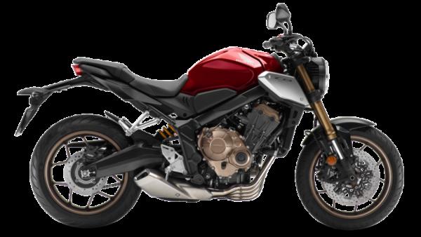Honda CB650R Neo Sports Café Rojo