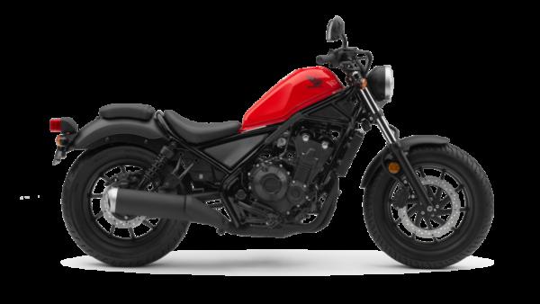 Honda CMX500 REBEL Rojo Millenium