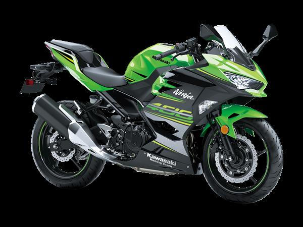 Kawasaki Ninja 400 Verde