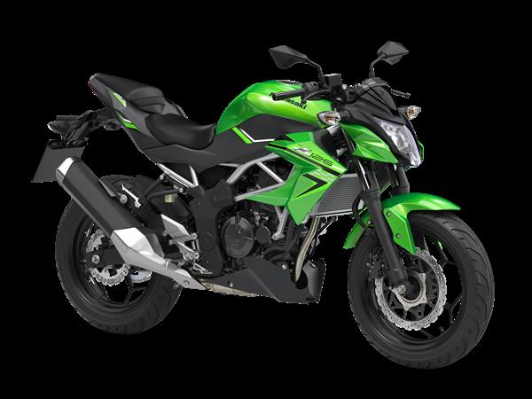 Kawasaki Z125 Verde 2020