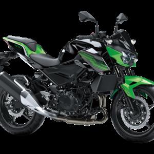 Kawasaki Z400 Verde