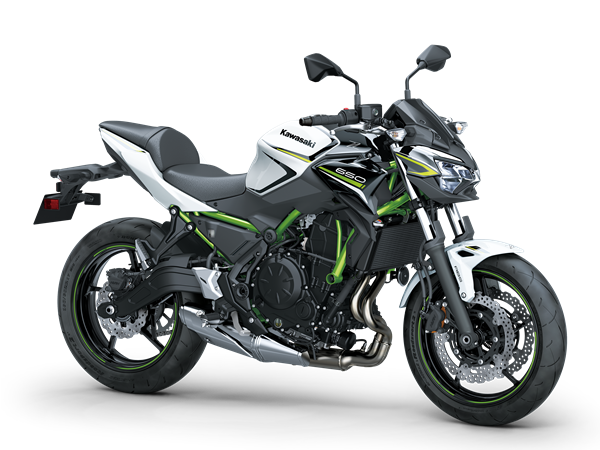 Kawasaki Z650 2020 Blanco