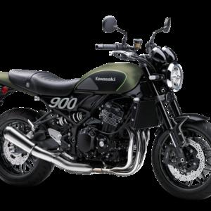 Kawasaki Z900RS Verde