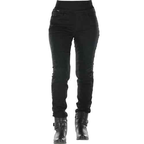 Pantalón legging OVERLAP JANE Negro 2