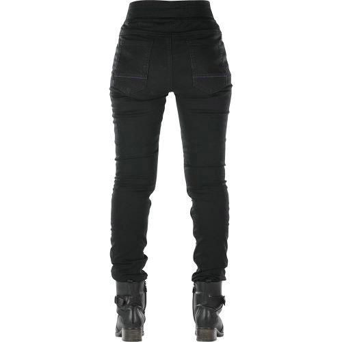 Pantalón legging OVERLAP JANE Negro 3