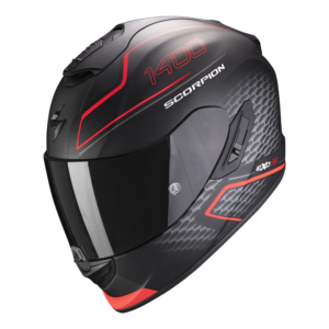 Casco SCORPION EXO 1400 AIR GALAXY Rojo