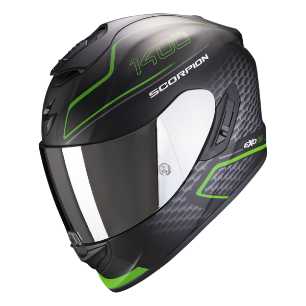 Casco SCORPION EXO 1400 AIR GALAXY Verde