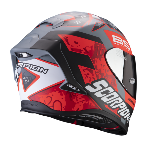 Casco SCORPION EXO-R1 AIR FABIO 3