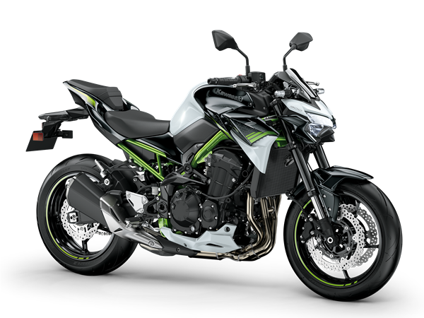Kawasaki z900 blanco