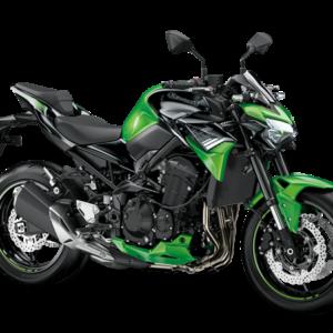 Kawasaki z900 verde