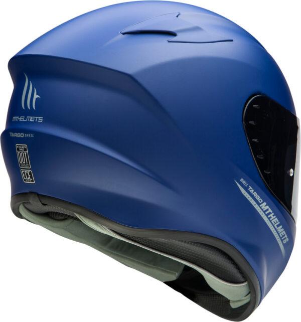 Casco MT TARGO Azul 2