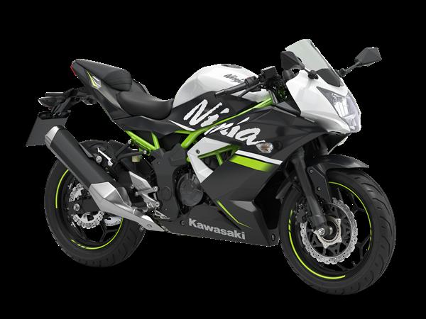 Kawasaki Ninja 125 SE Blanco 2020