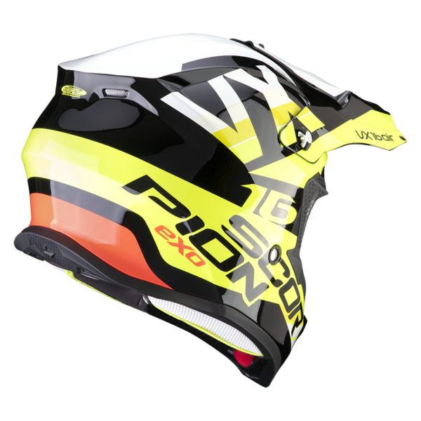 Casco SCORPION VX-16 AIR X-TURN Negro 3