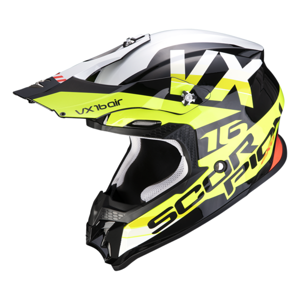 Casco SCORPION VX-16 AIR X-TURN Negro