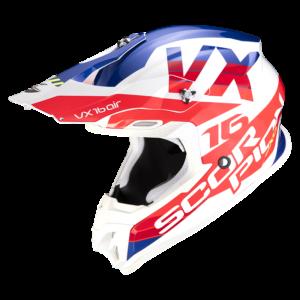 Casco SCORPION VX-16 AIR X-TURN Tricolor