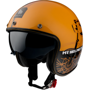 Casco MT LEMANS CAFE RACER