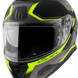 Casco MT THUNDER 3 TURBINE Fluor