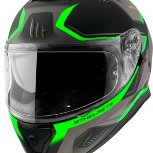 Casco MT THUNDER 3 TURBINE Verde